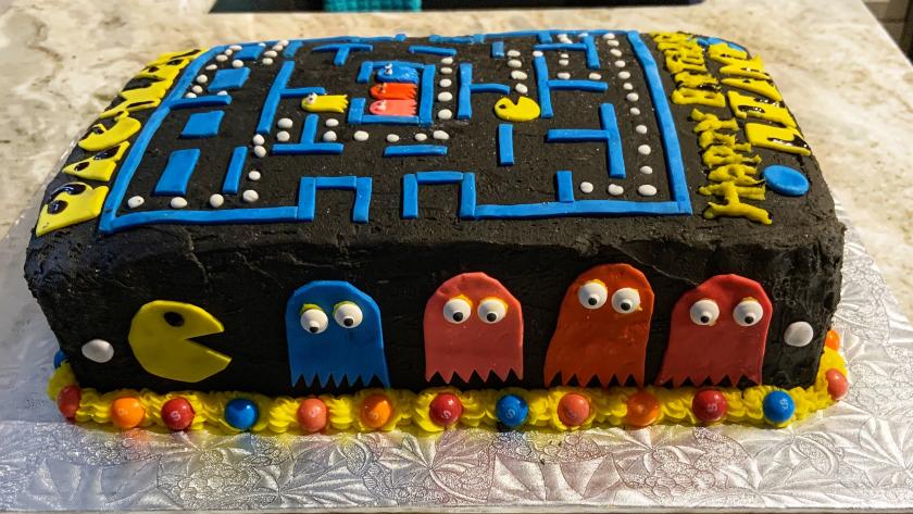 Vintage Vibes Cake