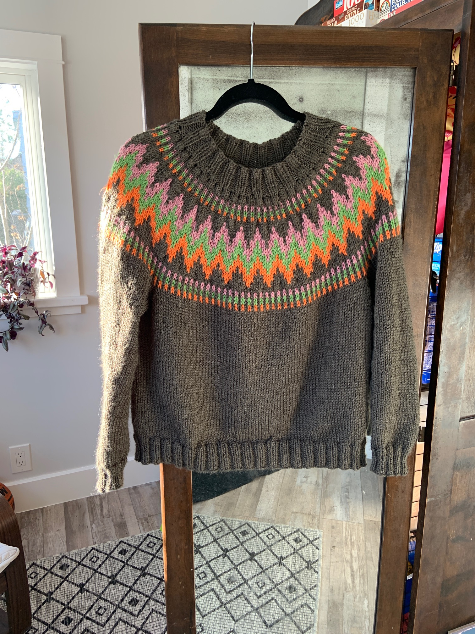 The Throwover Sweater
